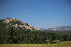 AU3A6526 (MegachromeImages) Tags: sd south dakota pigtail loop black hills mount rushmore granite rock formation forest ponderosa pine mineral alpine custer state park buffalo