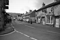 Castleton, Peak District, Derbyshire (HighPeak92) Tags: monochrome castleton peakdistrict derbyshire nikond3100