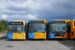 2004' Volvo B12BLE-59 Aabenraa 8500LE & 2005' Scania CL94UB OmniLink (Kim-B10M) Tags: movia arriva 1986 1550 1552
