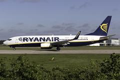 Ryanair 737-800 EI-DHP at Manchester Airport MAN/EGCC (dan89876) Tags: ryanair boeing 737 b738 737800 7378as eidhp manchester international airport takeoff 23l south side man egcc