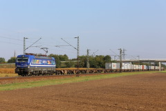 RTB 193 793-7 Rath Gruppe, Containerzug Graben (michaelgoll777) Tags: rtb br193 vectron