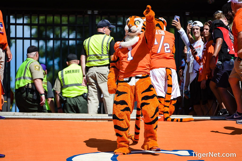 Clemson Photos: The  Tiger, Football, 2019