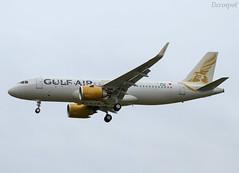F-WWDI Airbus A320 Neo Gulf Air (@Eurospot) Tags: fwwdi a9ctd airbus a320 neo 9188 toulouse blagnac gulfair