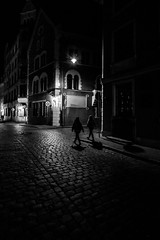 walk through darkness, Riga, Latvia (Davide Tarozzi) Tags: walkthroughdarkness riga latvia lettonia streetphotography street blackwhite blackandwhite