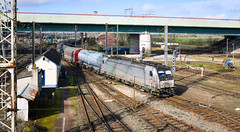 186 194-7 at Somain (robmcrorie) Tags: 186 1947 fret freight sncf somain france north nord nikon d850 aziem train rail railway