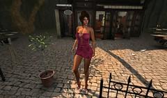 Beautiful Day (*kAmmieAnn*) Tags: allurecouture fashion style trend appearance mesh newrelease kriss dress minidress tkw pom pomeraniapark originaltexture maitreya slink belleza