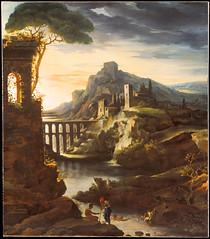 Evening: Landscape with an Aqueduct (lluisribesmateu1969) Tags: notonview themetropolitanmuseumofart newyork 19thcentury géricault