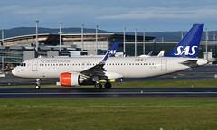 SAS EI-SIE,  OSL ENGM Gardermoen (Inger Bjørndal Foss) Tags: eisie sas scandinavian airbus a320 neo osl engm gardermoen