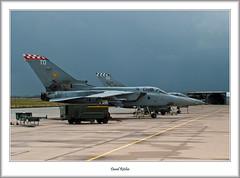 ZE287, ZE810 F3 Tornado RAF Leuchars (flatfoot471) Tags: 2008 airbase aircraft bae fife june leuchars military normal panavia raf royalairforce scotland tornado unitedkingdom