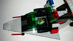 Space Police II Interceptor Cockpit (Constender) Tags: lego moc space police classic ll918 ll 918 spaceship starfighter 2 ii