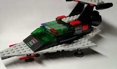 Space Police II Interceptor (Constender) Tags: lego moc space police classic ll918 ll 918 spaceship starfighter 2 ii