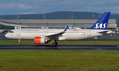 SAS SE-ROM,  OSL ENGM Gardermoen (Inger Bjørndal Foss) Tags: serom sas scandinavian airbus a320 neo osl engm gardermoen