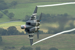 """""""Grim Reapers"""" Heritage F-15Cy2019SBS2075WEB (PhoenixFlyer2008) Tags: usafe lakenheath lowlevel lowflying low lowfly machloop wales canon fighter pilot aviation aircraft vapour jetwash dday heritage 840010 493rdfs grim reapers raflakenheath raf aircrew"""