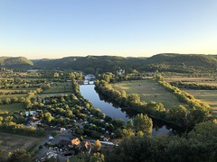 Dordogne River and valley, evening view from panorama, Beynac-et-Cazenac, France (Paul McClure DC) Tags: beynacetcazenac france périgord dordogne nouvelleaquitaine sept2019 scenery river