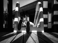 Slide (Saritaku) Tags: blackandwhite joy child playground slide