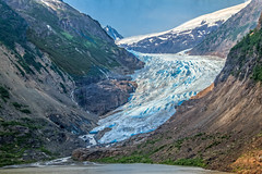 Toe Of Bear Glacier (http://fineartamerica.com/profiles/robert-bales.ht) Tags: canada forupload icefieldsorglacier places scenic park glacial famous glacier volcano wonder natural terminus landscape frozen national tourism magnificent ice geological nigardsbreen stream power bedrock rock terminalface terminal mountain flow icy whitewater tongue meltwater alaska nature travel water blue climate unitedstates global melting warming peaks bearglacier hyder bearriver glacierterminus toe snout robertbales