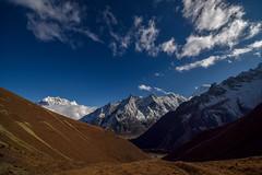 Samdo Himal (6335 m.a.s.l.) from Dharmasala (Petr Vodak) Tags: dharmasala manaslu nepál naikepeak samdohimal trekokolomanaslu clouds trek bluesky himalaya himalayas mraky himalaje himalaj colorsofmountains modrenebe barvyhor