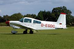 D-EGDC Grumman American AA-5B Tiger cn AA5B-0728 Sywell 01Sep19 (kerrydavidtaylor) Tags: orm egbk sywellaerodrome northamptonshire aa5