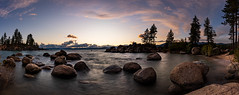 Sand Harbor Sunset Panorama