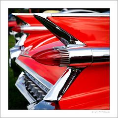Caddy Coupe de Ville (G. Postlethwaite esq.) Tags: 1959 cadillaccoupedeville dof derby markeatonpark unlimitedphotos bokeh classiccarbikeshow depthoffield photoborder selectivefocus