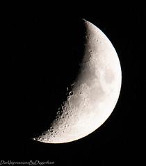 Moon (PhoToByPdE) Tags: moon mond night nacht sw canon 80d austria heiligenblut berge langzeitbelichtung natur astro good mood