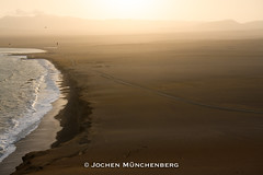 Desert Beach (drzoidbergh) Tags: peru desert beach coast ocean sea sand dusty windswept empty desolate lonely sunset dusk evening