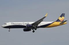 G-TCVD (LIAM J McMANUS - Manchester Airport Photostream) Tags: gtcvd thomascookairlines thomascook kestrel mt tcx airbus a321 321 airbusa321 manchester man egcc