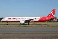 TC-ATB 30082019 (Tristar1011) Tags: ebbr bru brusselsairport atlasjet airbus a321200 a321 tcatb atlasglobal