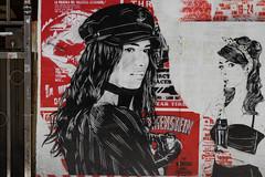 Urban Art (michael_hamburg69) Tags: hamburg germany deutschland streetart urbanart stencil wall mittenimwald artist künstler wohlwillstrasse50 eldorado musikbar girl girls dead frankenstein