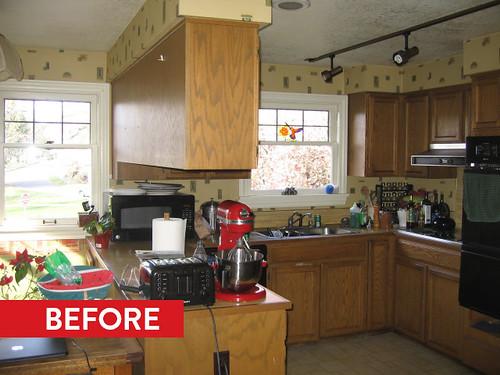 Mt Baker Park Kitchen Remodel BEFORE