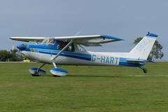 Cessna 152 II G-HART (Gavin Livsey) Tags: cessna c152 ghart laarally sywell