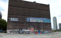 Rijnhaven Rotterdam (oerendhard1) Tags: graffiti streetart urban art rotterdam oerendhard zuid rijnhaven illegal vandalism zonde zombie lee towers surch cyber chan stb eikel