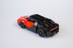 Bugatti Chiron (Jerry Builds Bricks) Tags: bugatti chiron speedchampions lego moc