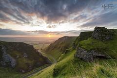 Winnats Pass Dawn. (miketonge) Tags: hopevalley peakdistrict castleton winnatspass winnats pass gorge limestone derbyshire sunrise nisifilters nikon d850 1424 dawn