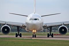 Airbus A330-203 - SU-TCH - HAJ - 08.09.2019(7) (Matthias Schichta) Tags: haj hannoverlangenhagen eddv planespotting flugzeugbilder flugzeug aviation airbus sutch almasriauniversalairlines a330200