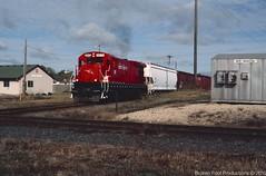 Minnesota Commercial 1971 exCR B23-7 New Brighton, MN, 10-9-2009 (Broken Foot Productions) Tags: minnesota commercial conrail