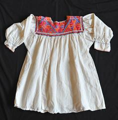 Oaxaca Mexico Zapotec Blouse Textiles (Teyacapan) Tags: blusas mexicanas zapotec textiles embroidery sanvicentecoatlan oaxacan