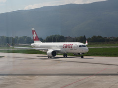 Swiss A220-300 HB-JCM (RS_1978) Tags: bosnienundherzegowina bombardier olympuspenf aircraft cs300 airbusa220300 avions bosnaihercegovina flugzeuge luftfahrzeug sarajevo