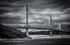 Project Sunday Week 36 Shoot an Amazing Subject (JamesF1960) Tags: projectsunday bw blackandwhite bridge queensferry crossing firthofforth scotland shootanamazingsubject