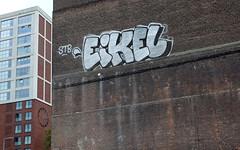 Eikel (oerendhard1) Tags: graffiti streetart urban art rotterdam oerendhard zuid rijnhaven illegal vandalism stb eikel