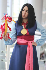 IMG_6064 (willdleeesq) Tags: d23 d23expo d23expo2019 disney cosplay cosplayer cosplayers disneycosplay mulan anaheimconventioncenter