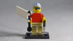 Brick Yourself Custom Lego Figure - Cool Golfer