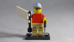 Brick Yourself Custom Lego Figure - Cool Golfer