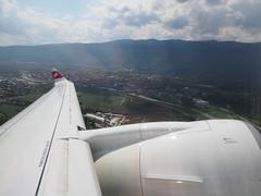 Leaving Sarajevo (RS_1978) Tags: bosnienundherzegowina bombardier olympuspenf aircraft luftaufnahmen cs300 airbusa220300 avions bosnaihercegovina flugzeuge luftfahrzeug ilidža sarajevo