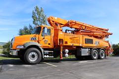 JFK Concrete Pumping Truck (raserf) Tags: jfk concrete cement truck trucks pump pumper pumping mack putzmeister rogers arkansas sturtevant wisconsin racine county