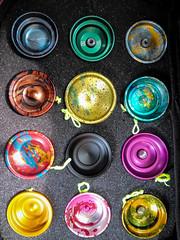 12 One Drops (hz536n/George Thomas) Tags: 2019 yoyo onedrop aluminum
