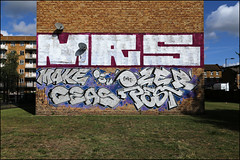 Mrs / Make / Ozer / Ceas / Pest (Alex Ellison) Tags: mrs hg roller make ozer ceas pest osv eastlondon urban graffiti graff boobs