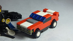 Brick Yourself Custom Lego Set - Muscle Car
