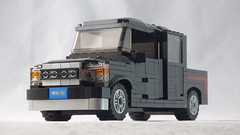 Brick Yourself Custom Lego Set - Black 4WD