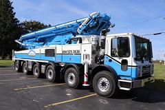 Gastaldo Concrete LTD. Truck (raserf) Tags: gastaldo concrete cement truck trucks pump pumper pumping ltd mack putzmeister annacis island delta british columbia canada sturtevant wisconsin racine county